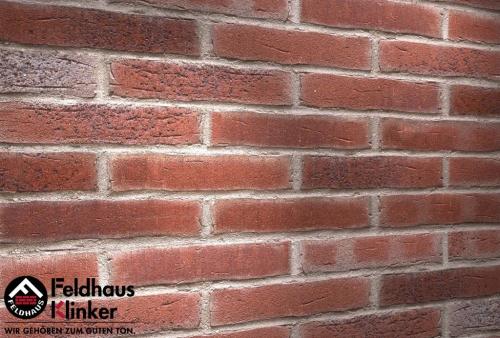 Клинкерная плитка Feldhaus Klinker sintra cerasi aubergine R664NF14 240x71x14 мм