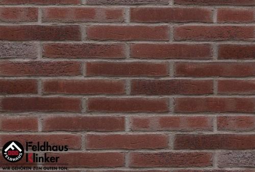 Клинкерная плитка Feldhaus Klinker sintra cerasi aubergine R664WDF14 215x65x14 мм
