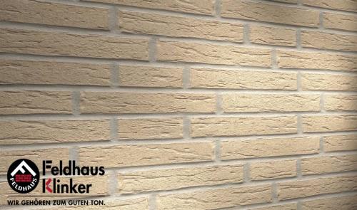 Клинкерная плитка Feldhaus Klinker sintra perla R691WDF14 215x65x14 мм