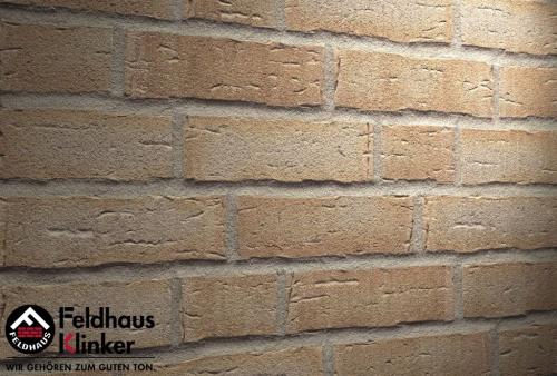 Клинкерная плитка Feldhaus Klinker sintra terracotta bario R681WDF14 215x65x14 мм