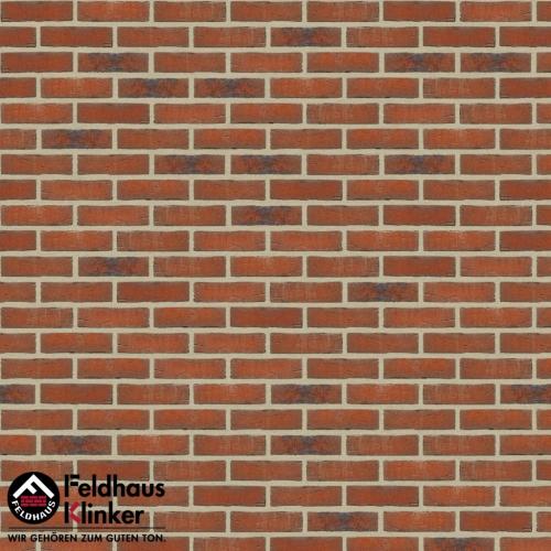 Клинкерная плитка Feldhaus Klinker sintra terracotta linguro R687WDF14 215x65x14 мм