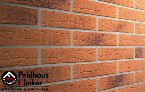 Клинкерная плитка Feldhaus Klinker terracota rustico carbo R228DF9 240x9x52 мм