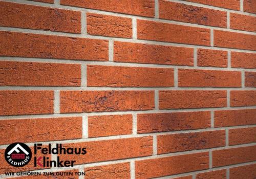 Клинкерная плитка Feldhaus Klinker terreno rustico carbo R488NF14 240x14x71 мм