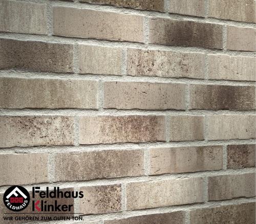 Клинкерная плитка Feldhaus Klinker vascu argo antrablanca R773NF14 240x71x14 мм