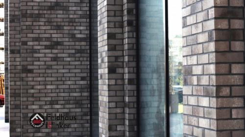 Клинкерная плитка Feldhaus Klinker vascu argo antrablanca R773XLDF14 365x52x14 мм