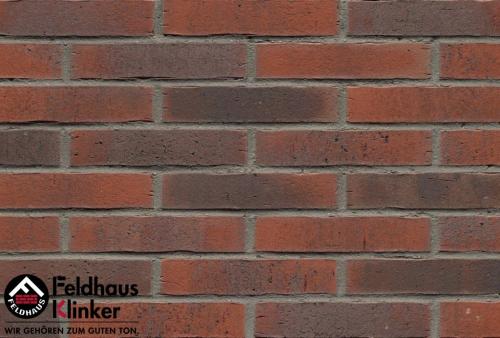 Клинкерная плитка Feldhaus Klinker vascu carmesi flores R743DF14 240x52x14 мм