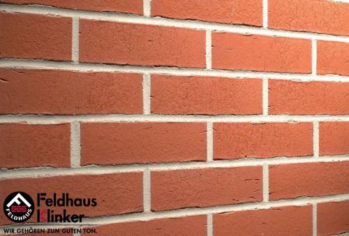 Клинкерная плитка Feldhaus Klinker vascu carmesi R751DF14 240x52x14 мм