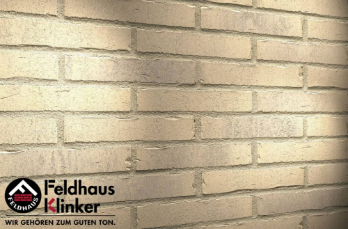 Клинкерная плитка Feldhaus Klinker vascu crema pandra R733DF14 240x52x14 мм