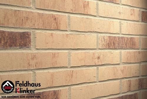 Клинкерная плитка Feldhaus Klinker vascu crema petino R742DF14 240x52x14 мм