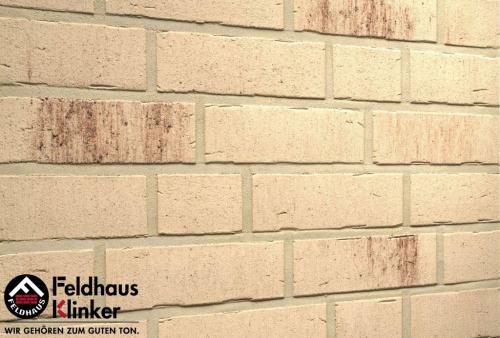 Клинкерная плитка Feldhaus Klinker vascu crema petino R742NF14 240x71x14 мм