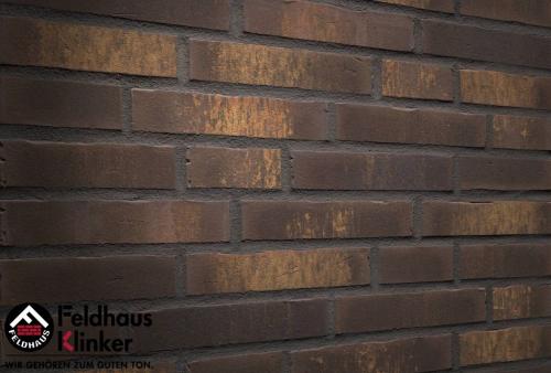 Клинкерная плитка Feldhaus Klinker vascu geo legoro R747DF14 240x52x14 мм