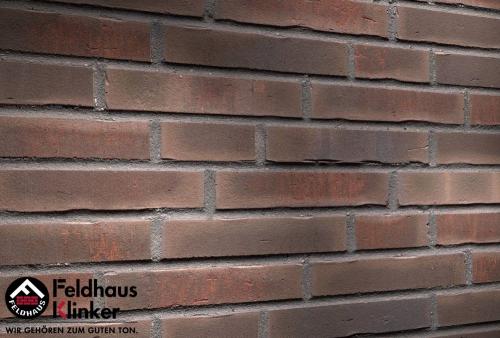 Клинкерная плитка Feldhaus Klinker vascu geo merleso R748NF14 240x71x14 мм