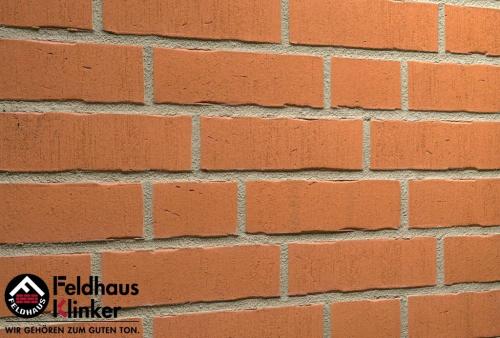 Клинкерная плитка Feldhaus Klinker vascu terracotta oxana R731DF14 240x52x14 мм