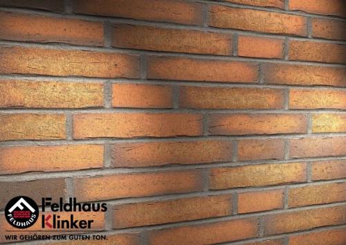 Клинкерная плитка Feldhaus Klinker vascu terracotta R758DF14 240x52x14 мм