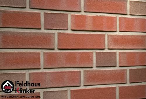Клинкерный кирпич Feldhaus Klinker K366NF lava ciaro liso