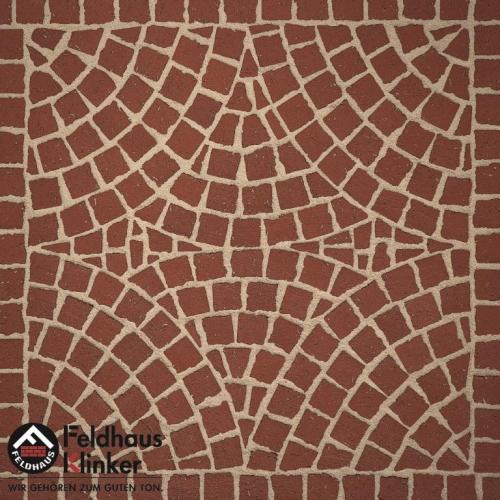 Клинкерная мозаика FeldHaus Klinker Gala plano M402DF