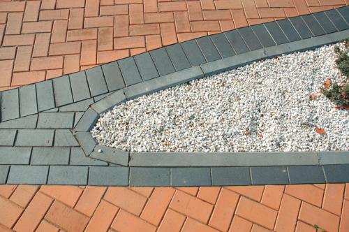 Клинкерная брусчатка Vandersanden Meissen (черная, рельефная)