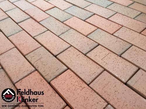 Тротуарный кирпич FeldHaus Klinker Gala flamea