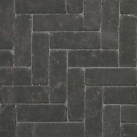 Ручной формовки брусчатка Vandersanden опесоченная, устаренная Morvan Nostalgie (черная, рельефная, опесоченная, устаренная)