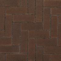 Ручной формовки брусчатка Vandersanden опесоченная Dordogne (коричневая, рельефная, опесоченная)