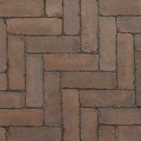 Ручной формовки брусчатка Vandersanden шлифованная, устаренная Cadiz Nostalgie (коричневая, гладкая, устаренная, не опесоченная)