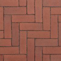 Ручной формовки брусчатка Vandersanden шлифованная Burgos unsanded (коричневая, гладкая, не опесоченная)