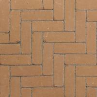 Ручной формовки брусчатка Vandersanden опесоченная, устаренная Provence Nostalgie (коричневая, рельефная, опесоченная, устаренная)