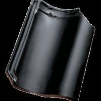 Керамическая черепица Koramic OVH Black Matt Glazed
