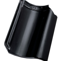 Керамическая черепица Koramic OVH Black Glazed