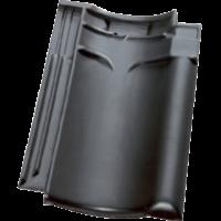 Керамическая черепица Koramic VHV Slate Black Matt Glazed
