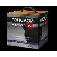 Эпоксидное покрытие для бетонного пола на водной основе Топслой Комплект, 2,7 кг Perfecta