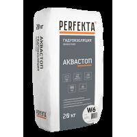 Гидроизоляция обмазочная Аквастоп W6, 20 кг Perfecta
