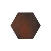 Paradyz Cloud Brown Duro Heksagon плитка напольная структурная