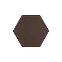 Paradyz Natural Brown (Plain) Heksagon плитка напольная