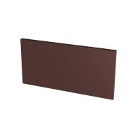 Paradyz Natural Brown (Plain) подступенник гладкий