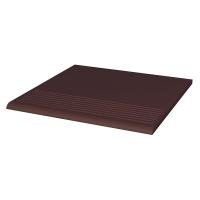 Paradyz Natural Brown (Plain) ступень прямая гладкая