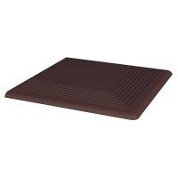 Paradyz Natural Brown (Plain) ступень угловая гладкая