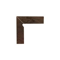 Paradyz Semir Brown плинтус левый структурный 2-х элем