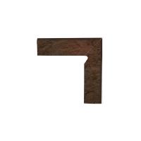 Paradyz Semir Brown плинтус правый структурный 2-х элем