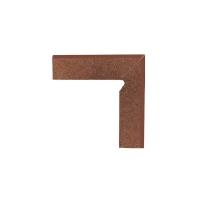 Paradyz Taurus Brown плинтус правый 2-х элем