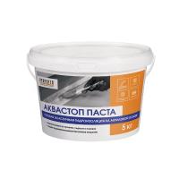 Гидроизоляция готовая эластичная Аквастоп Паста, 5 кг Perfecta
