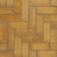 Ручной формовки брусчатка Vandersanden шлифованная Corsica unsanded (желтая, гладкая, не опесоченная)