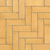 Ручной формовки брусчатка Vandersanden шлифованная, устаренная Lerida Nostalgie (желтая, гладкая, устаренная, не опесоченная)