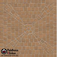 Клинкерная мозаика FeldHaus Klinker Areno trigo M203DF
