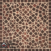 Клинкерная мозаика FeldHaus Klinker Gala ferrum M409DF