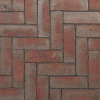 Ручной формовки брусчатка Vandersanden шлифованная Murcia unsanded (красная, серая, гладкая, не опесоченная)