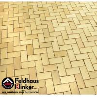 Тротуарный кирпич FeldHaus Klinker Cuero flamea