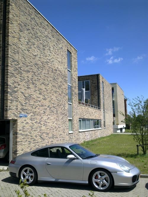 Кирпич ручной формовки Vandersanden 310. Castello Geel
